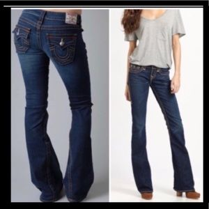 TRUE RELIGION JOEY JEANS SIZE 33 PERFECT CONDITION